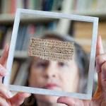 Фрагмент Евангелия от Марка на листе папируса