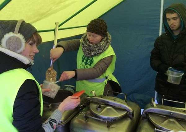 В Минске адвентисты организовали бесплатную кухню для бездомных
