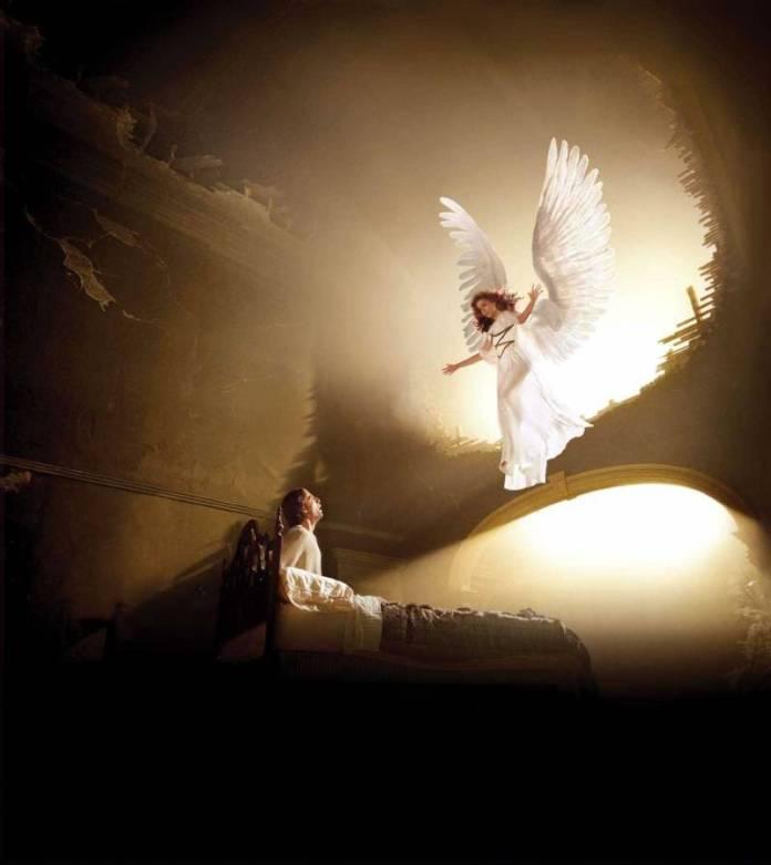 Ангел толкнул меня в спину