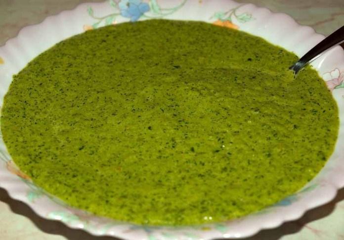 Зелёный суп