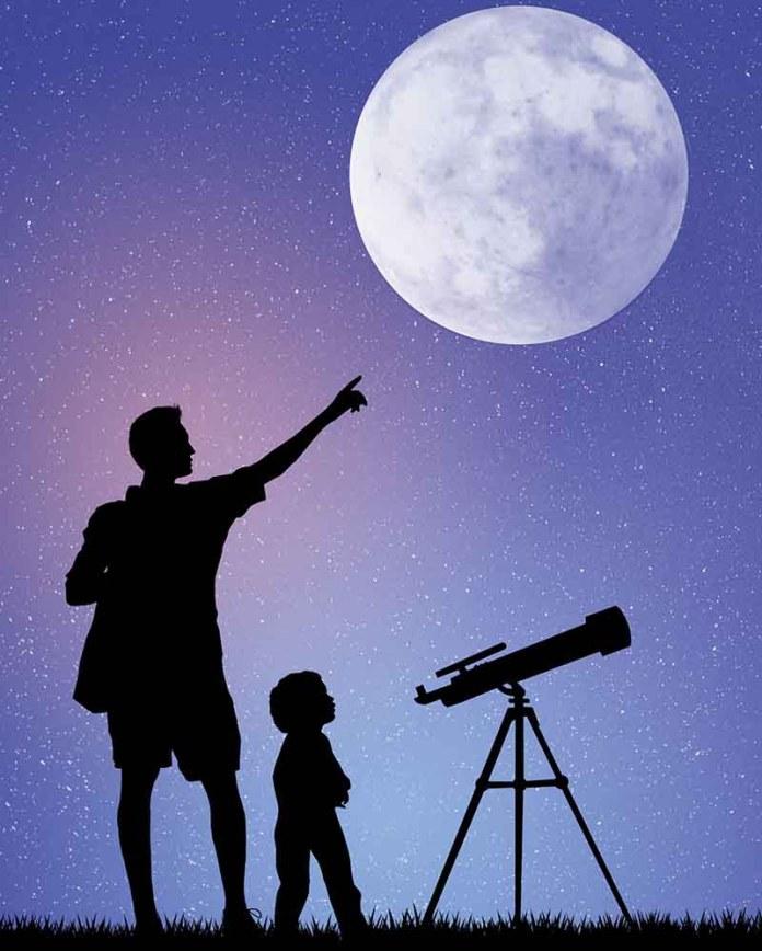 Луна голосует за Творца