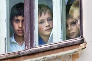 Число российских сирот