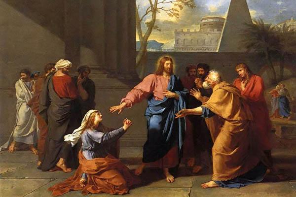 Иисус Христос и женщина Хананеянка