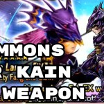 - 攻略動画 - Summons for Kain's EX Weapon – [DFFOO] – Dissidia Final Fantasy: Opera Omnia