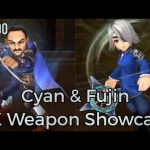 - ガチャ動画 - 【DFFOO】Cyan & Fujin EX Weapon Showcase