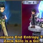 - 攻略動画 - DFFOO Global: Dimensions End Entropy Tier 4. Zack Solo is a Go!