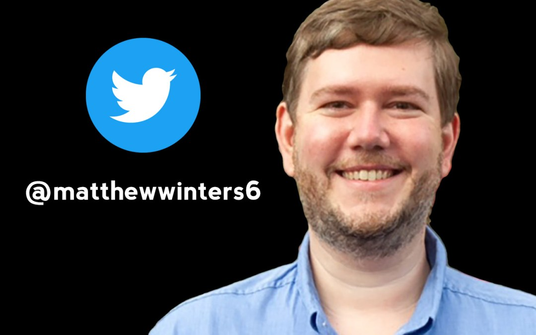 Influencer Interview: Matthew Winters – Grace in 280 Characters