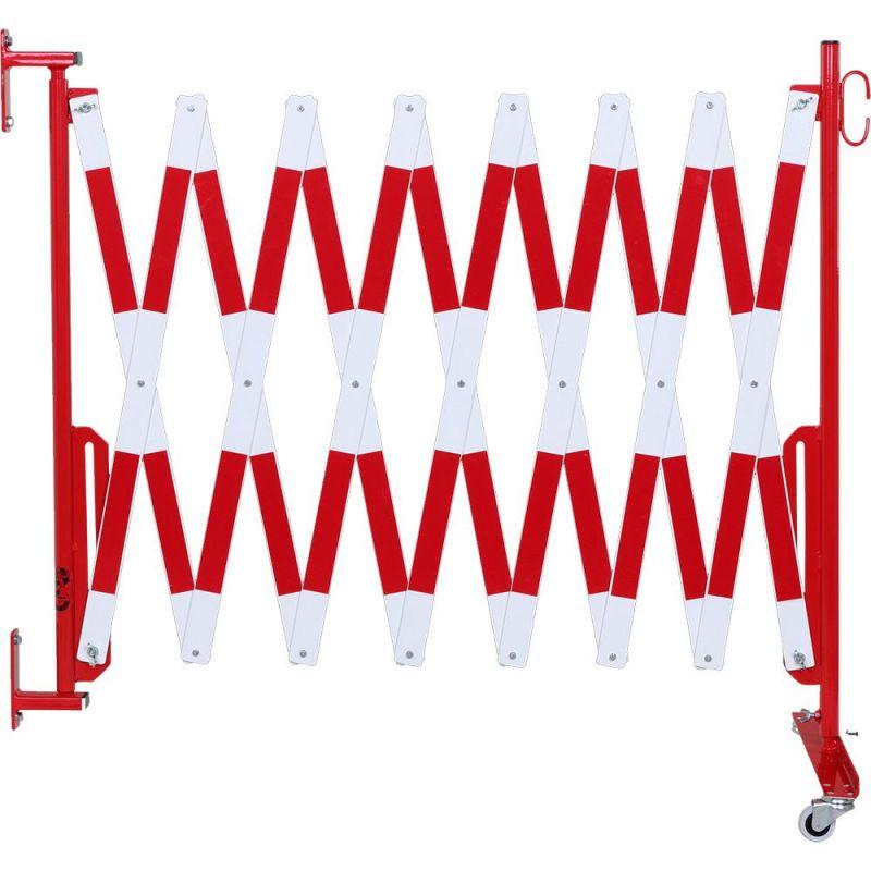 barriere extensible fixation murale et roues barrieres de securite