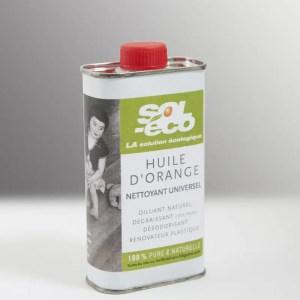 huile d'orange 0,25l