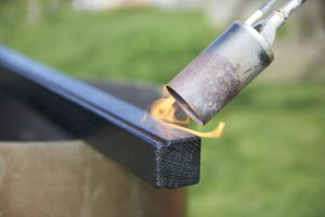 re-brûlage de l'huile
