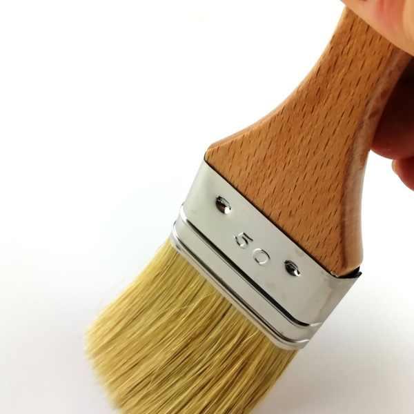 essai pinceau manche vernis 50mm