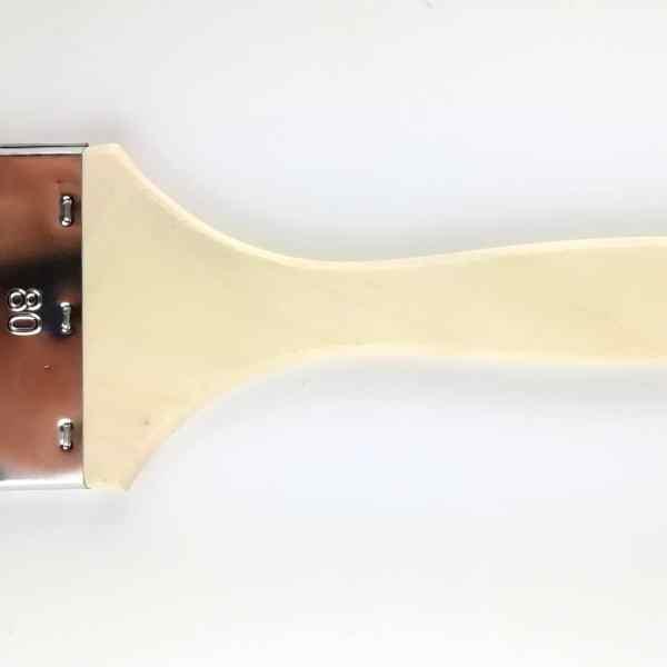 pinceau bois brut 80mm