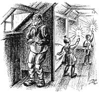Kertaskníkir, Jólasveinn, Jule-lads, Iceland, Ísland, Christmas