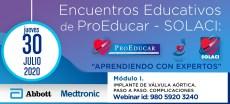 2° Encuentro Educativo ProEducar - Implante de Válvula Aórtica