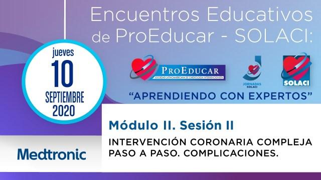 4° Encuentro Educativo ProEducar - Intervencion Coronaria Compleja