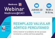 Webinar CACI | Reemplazo valvular aórtico por cateter