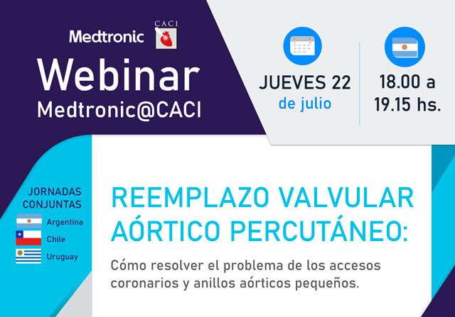 Webinar CACI | Reemplazo Valvular Aórtico Percutáneo