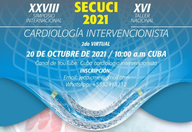 SECUCI 2021 - XXVIII Simposio Internacional de Cardiología Intervencionista