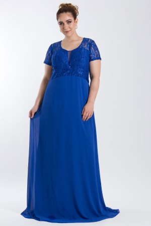 VESTIDO LONGO BRILHO AZUL ROYAL PS_PD153_8090royal_f1