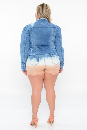SHORTS BORDADO JEANS