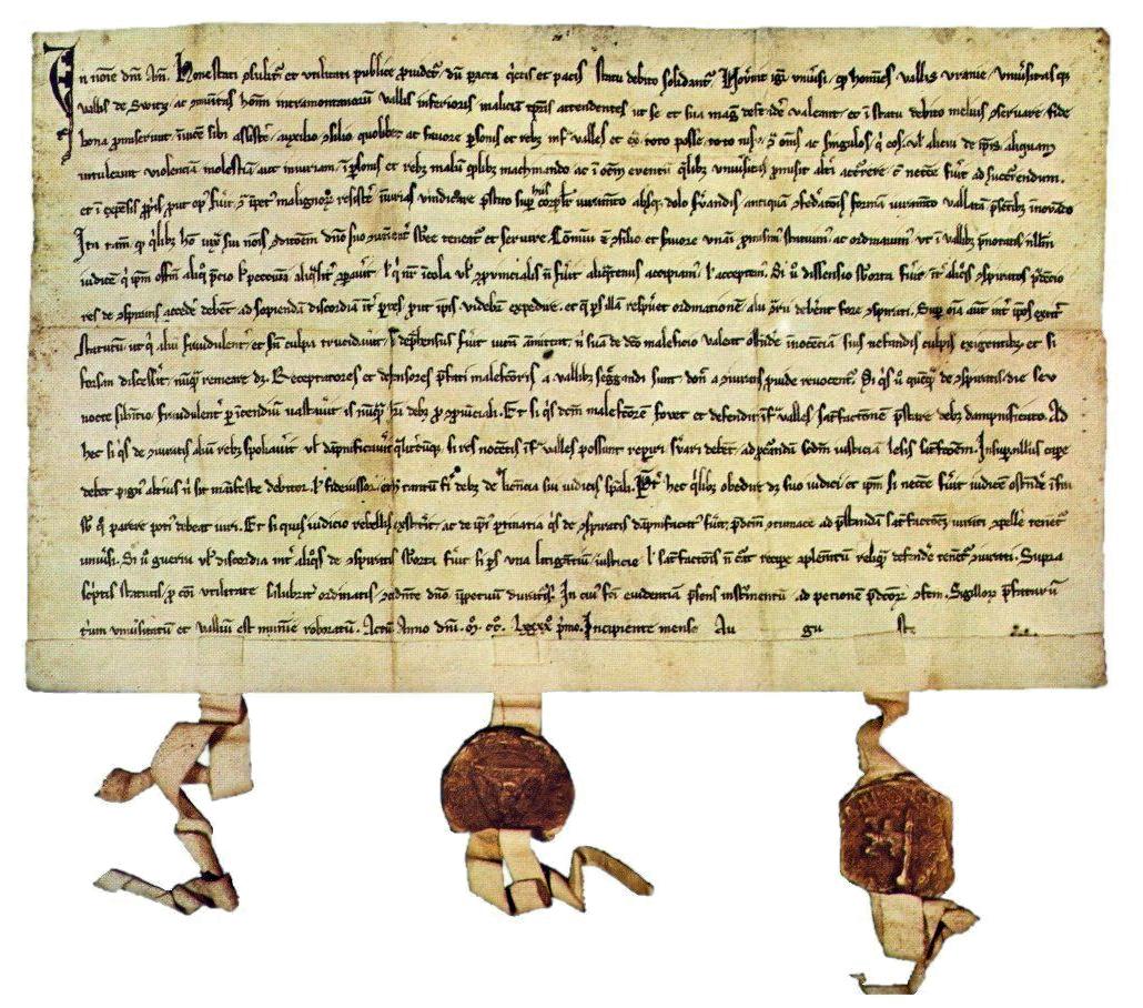 Gott im Bundesbrief 1291