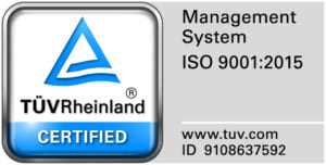 SOLA ISO 9001:2015 certification