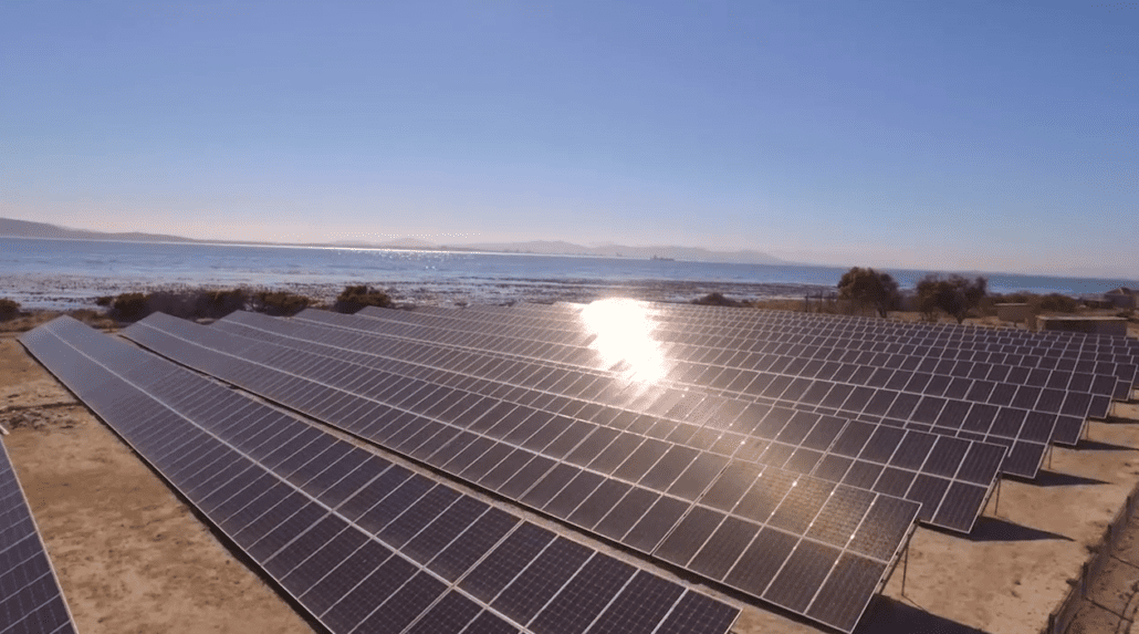 Robben island is now powered by the sun