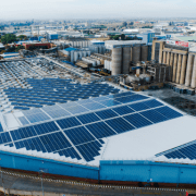 Solar Power Systems - Alrode Brewery in Alberton - industrial solar power system