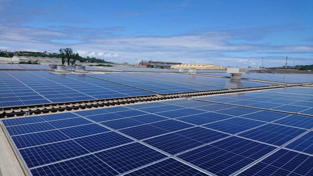 Prospecton Brewery Industrial Solar south africa