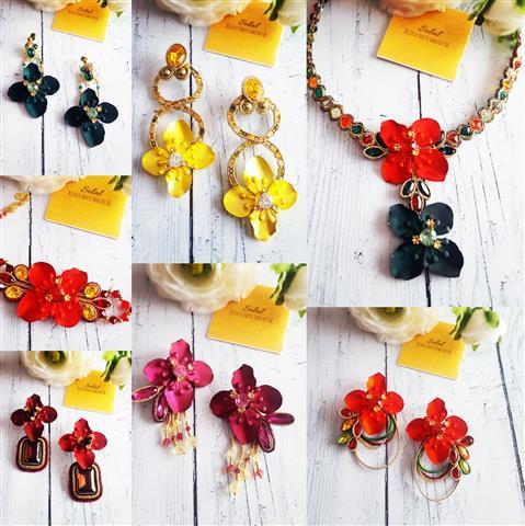 Solalbijoux nouvelle collection Exhubérance florale