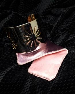 Solal Bijoux Haute Fantaisie manchon réversible rose
