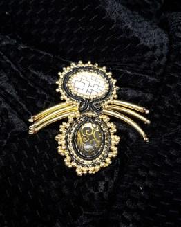 Solal Bijoux Haute Fantaisie bijou nomade noir et or