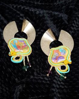 Solal Bijoux Haute Fantaisie Boucles d'oreilles