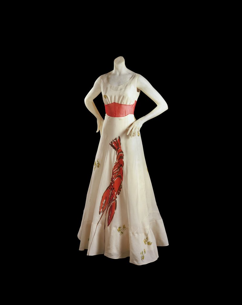 robe homard Elsa Schiaparelli