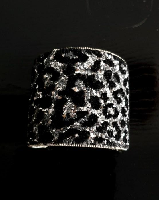 manchette et manchon réversible noir Solal Bijoux Haute Fantaisie