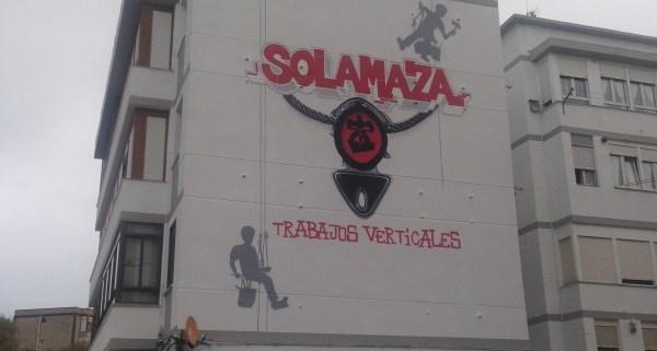 GRAFITI DE TRABAJOS VERTICALES
