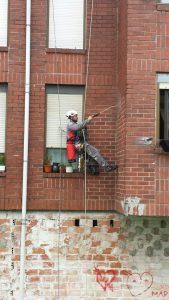 Trabajos verticales en Gijón Asturias GRUPO SOLAMAZA