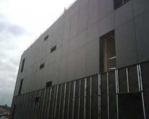 Fachada ventilada en Santander