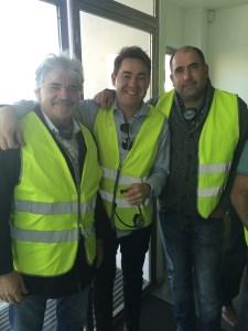 Tecnicos de Grupo Solamaza con Sergio Diego de Kerakoll