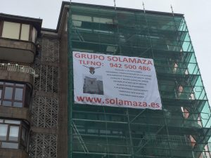 GRUPO SOLAMAZA Rehabilitación de fachadas