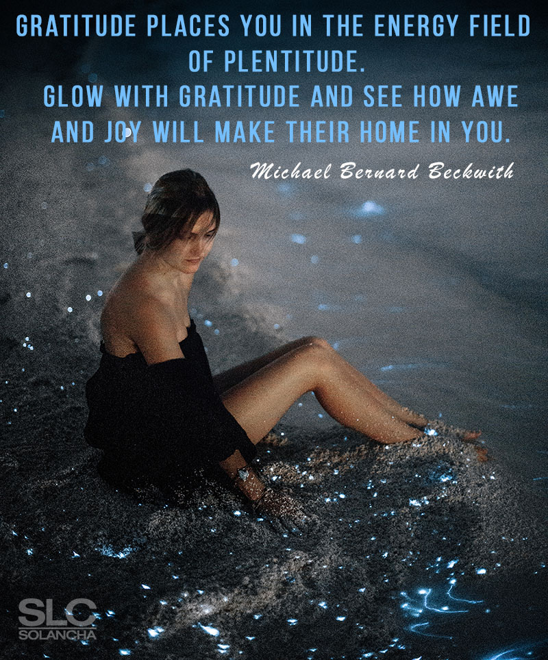 Michael Bernard Beckwith Quote About Gratitude Image