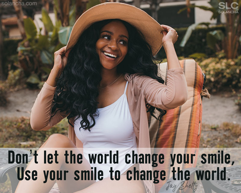 Jay Shetty Quote About Smile Image