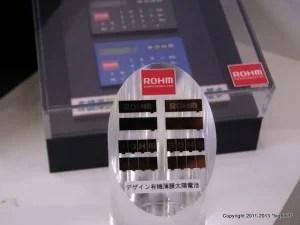 ロームの有機薄膜太陽電池