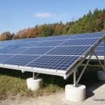 太陽光発電でゆく年くる年