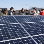 産業用太陽光発電 見学会・ルポ(4)