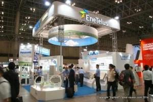田淵電機のブース@CEATEC JAPAN 2014