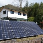 太陽光の施工費を5万円に抑えたオフグリッド事例