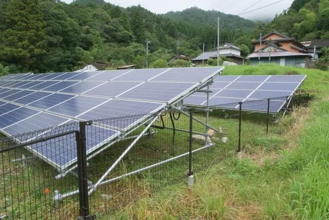 yuken氏の太陽光発電所