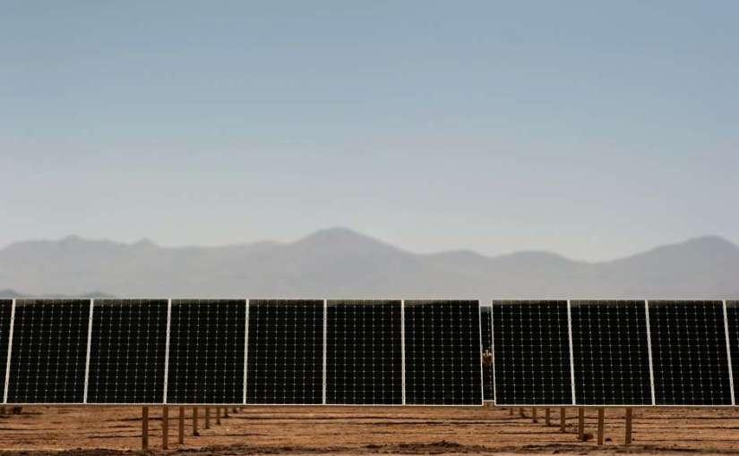 Французская солнечная электростанция в Узбекистане от Тоталь