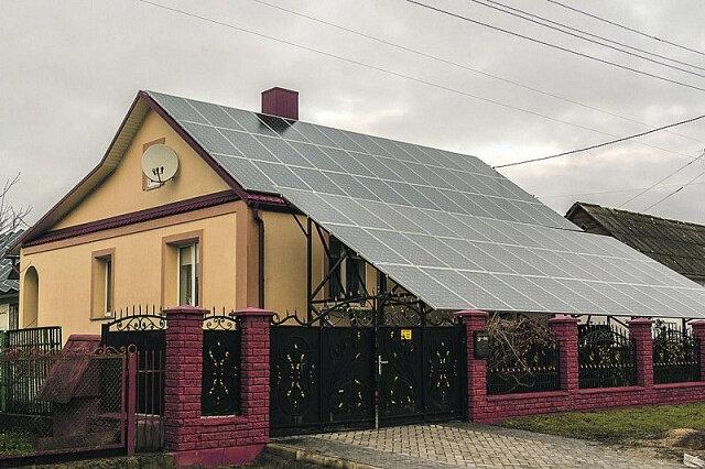 Коммерческая СЭС город Дубно
